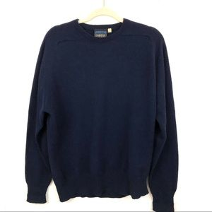 Vintage Lands End LAMBSWOOL Wool Pullover Sweater